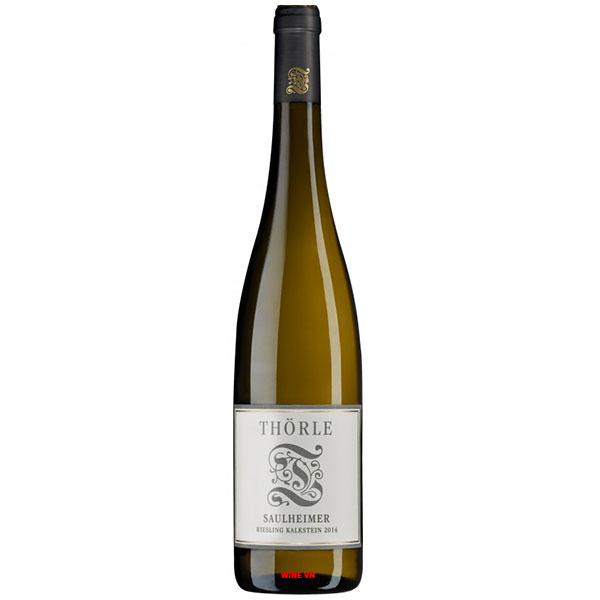 Rượu Vang Đức Thörle Saulheim Riesling Kalkstein