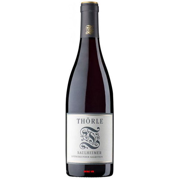 Rượu Vang Đức Thörle Saulheimer Spätburgunder Kalkstein