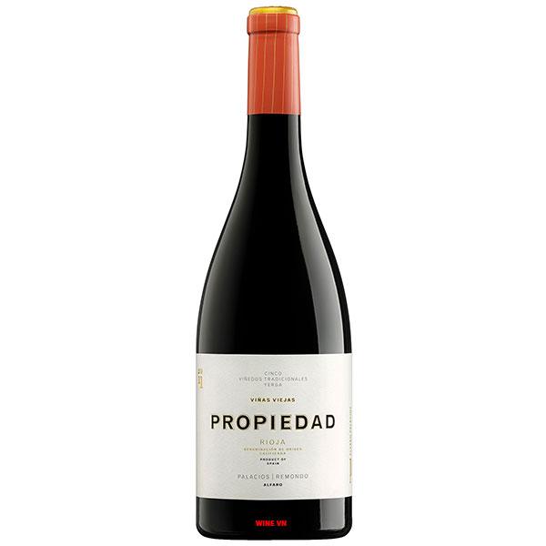 Rượu Vang Alvaro Palacios Propiedad Rioja