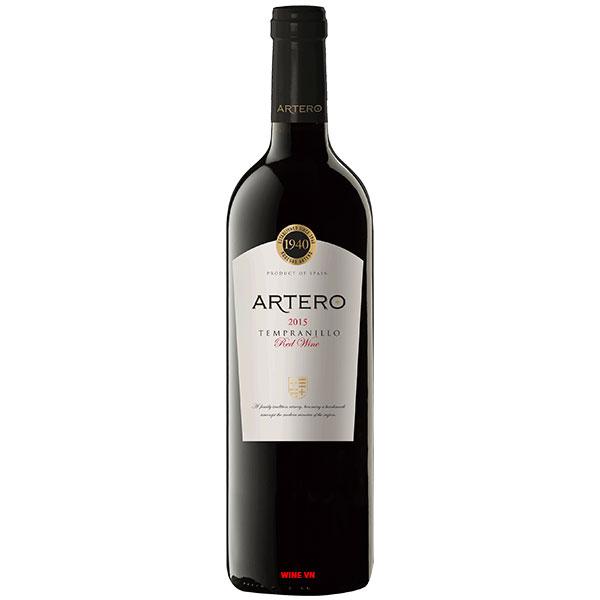 Rượu Vang Artero Tempranillo Red Wine