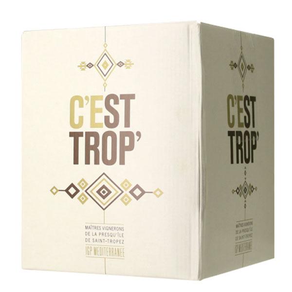 Rượu Vang Bịch Pháp C'est Trop