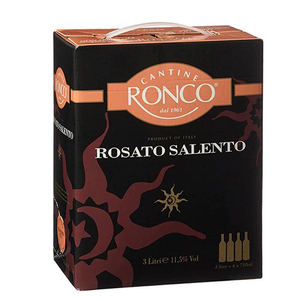 Rượu Vang Bịch Ronco Salento Rosato