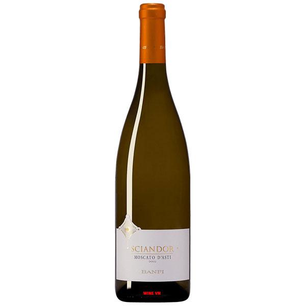Rượu Vang Banfi Sciandor Moscato D'Asti