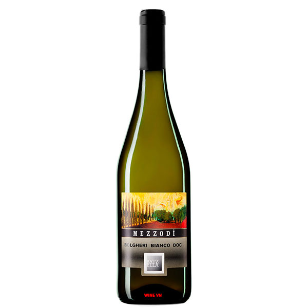 Rượu Vang Batzella Mezzodi Bianco Bolgheri DOC