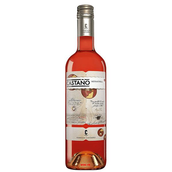 Rượu Vang Bodega Castano Yecla Do Rose