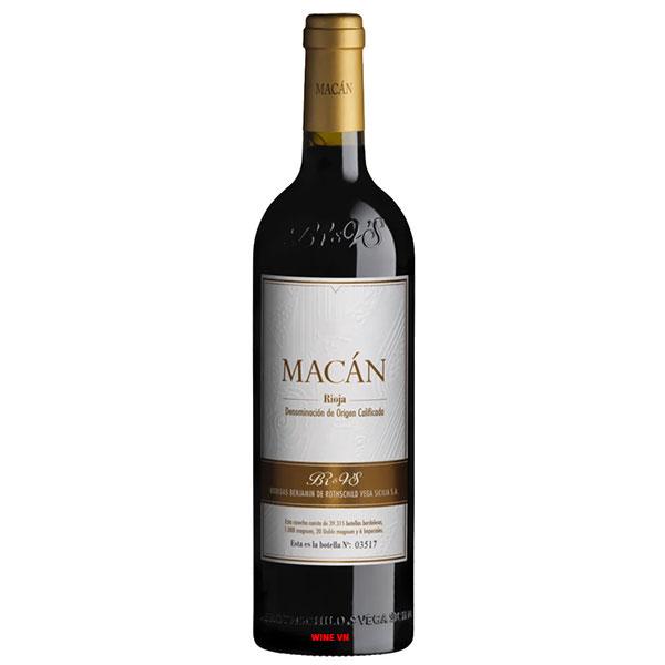 Rượu Vang Bodegas Benjamin De Rothschild & Vega Sicilia Macan Rioja
