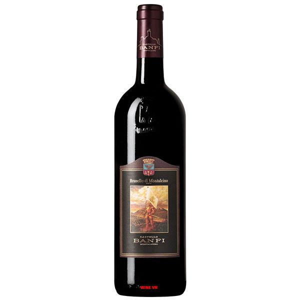 Rượu Vang Castello Banfi Brunello di Montalcino