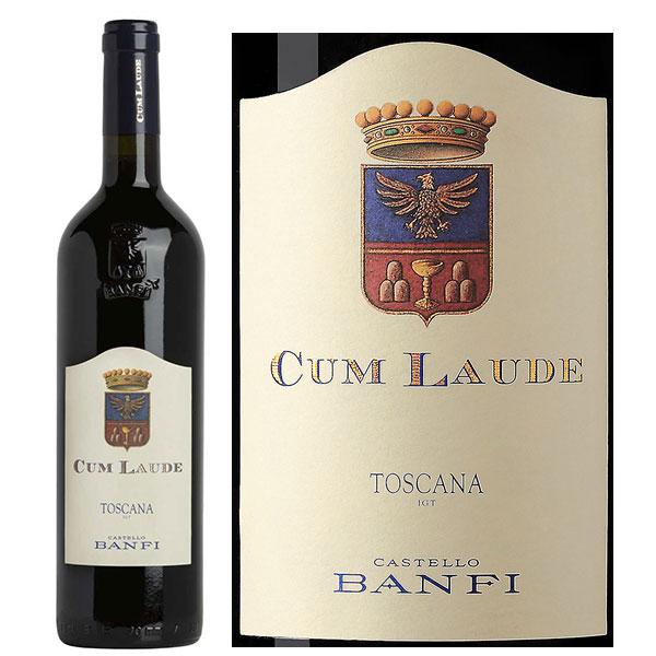Rượu Vang Castello Banfi Cum Laude Toscana