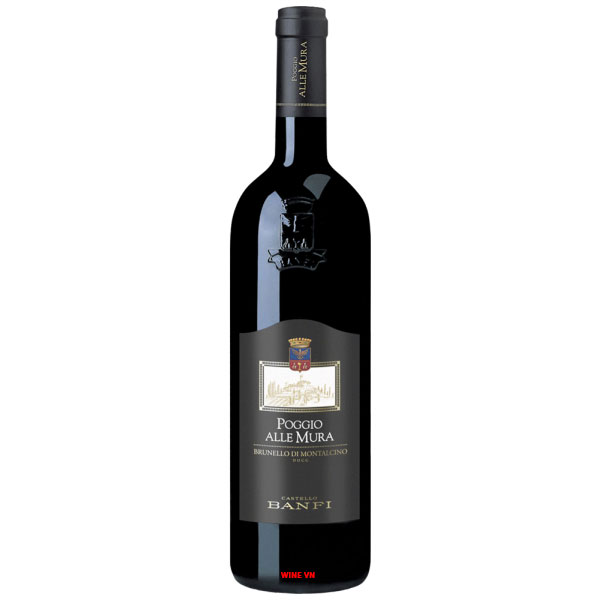 Rượu Vang Castello Banfi Poggio Alle Mura