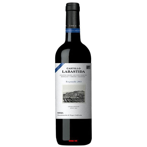 Rượu Vang Castillo Labastida Tempranillo
