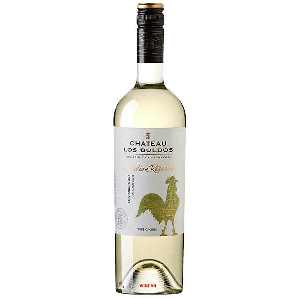 Rượu Vang Château Los Boldos Tradition Reserve Sauvignon Blanc