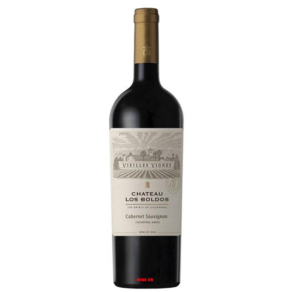 Rượu Vang Château Los Boldos Vieilles Vignes Cabernet Sauvignon