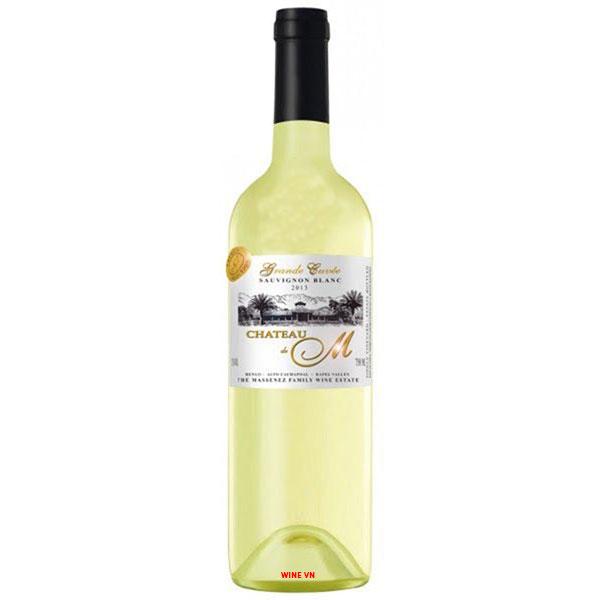 Rượu Vang Château M Gran Reserva Sauvignon Blanc