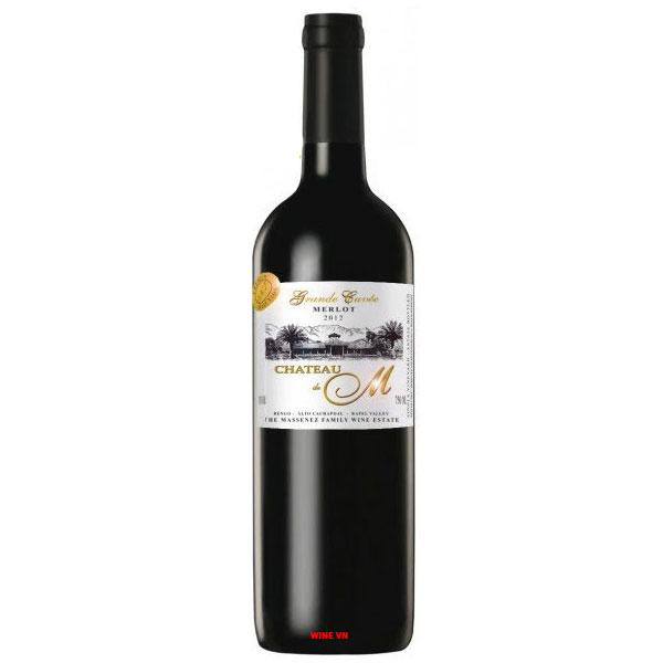 Rượu Vang Château M Grande Cuvée Merlot