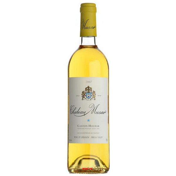Rượu Vang Chateau Musar Gaston Hochar White