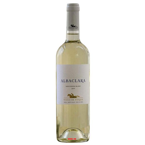 Rượu Vang Chile Albalara Sauvignon Blanc