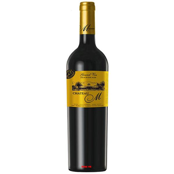Rượu Vang Chile Château M Grand Vin Gold Label