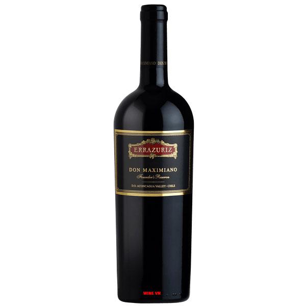 Rượu Vang Chile Errazuriz Don Maximiano
