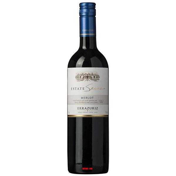 Rượu Vang Chile Errazuriz Estate Merlot