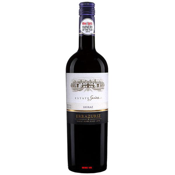 Rượu Vang Chile Errazuriz Estate Shiraz