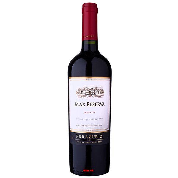 Rượu Vang Chile Errazuriz Max Reserva Merlot
