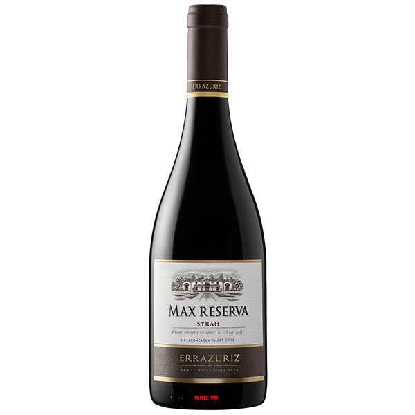 Rượu Vang Chile Errazuriz Max Reserva Syrah