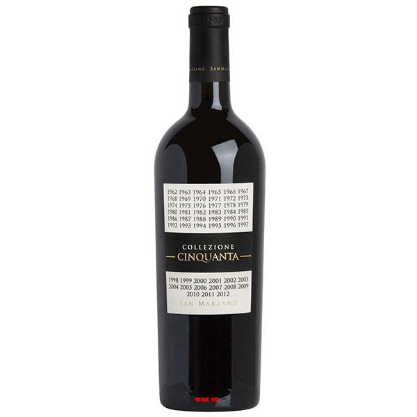 Rượu Vang CollezioneCinquanta San Marzano
