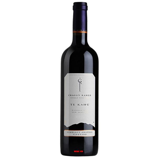 Rượu Vang Craggy Range Te Kahu Gimblett Gravels Vineyard Blend