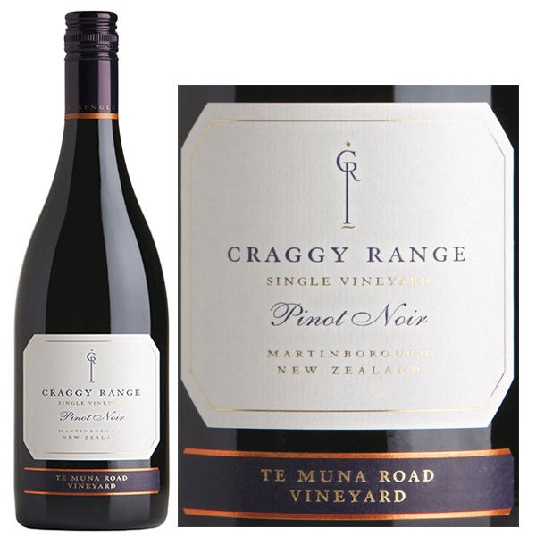 Rượu Vang Craggy Range Te Muna Road Vineyard Pinot Noir