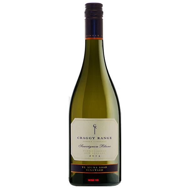 Rượu Vang Craggy Range Te Muna Vineyard Sauvignon Blanc