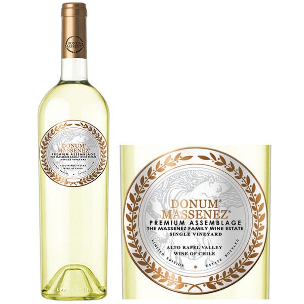 Rượu Vang Donum Massenez Premium Assemblage White