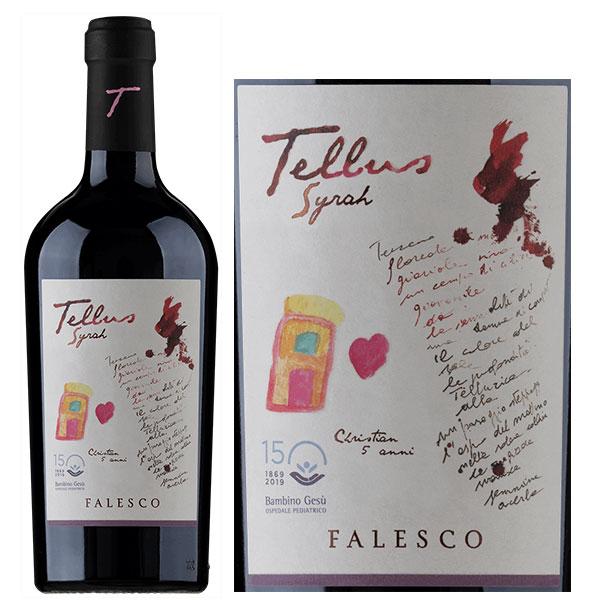 Rượu Vang Falesco Tellus Syrah Lazio