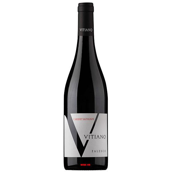 Rượu Vang Falesco Vitiano Cabernet Sauvignon