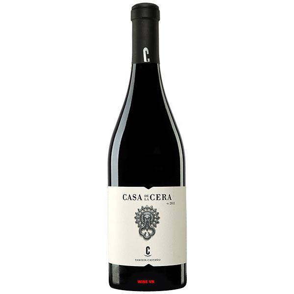 Rượu Vang Familia Castano Casa De La Cera Yecla