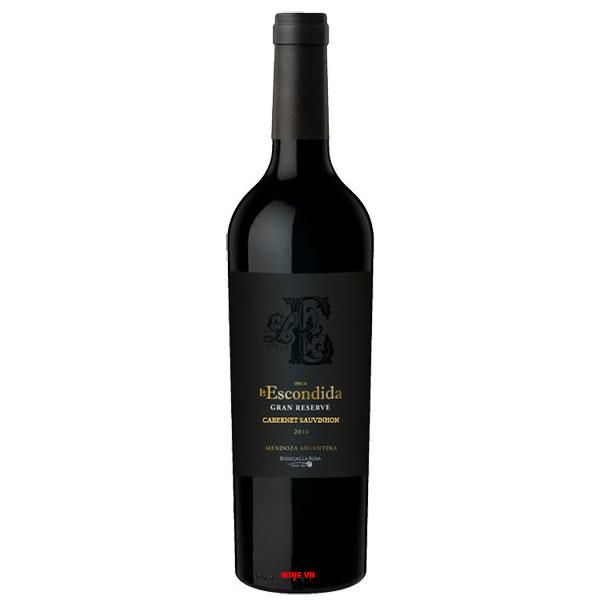 Rượu Vang Finca La Escondida Grand Reserve Cabernet Sauvignon
