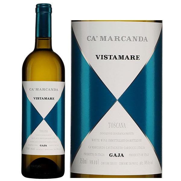 Rượu Vang Gaja Ca'Marcanda Vistamare White