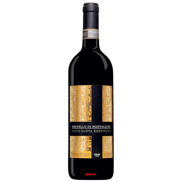 Rượu Vang Gaja Pieve Santa Restituta Brunello Di Montalcino