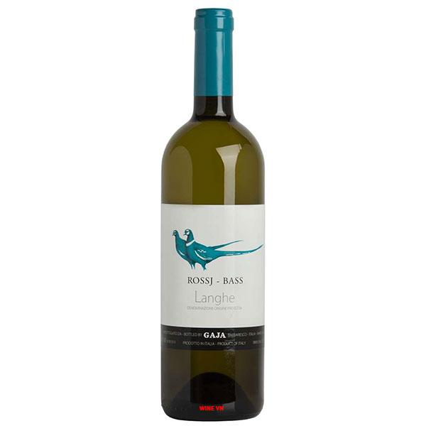Rượu Vang Gaja Rossj Bass Chardonnay Langhe