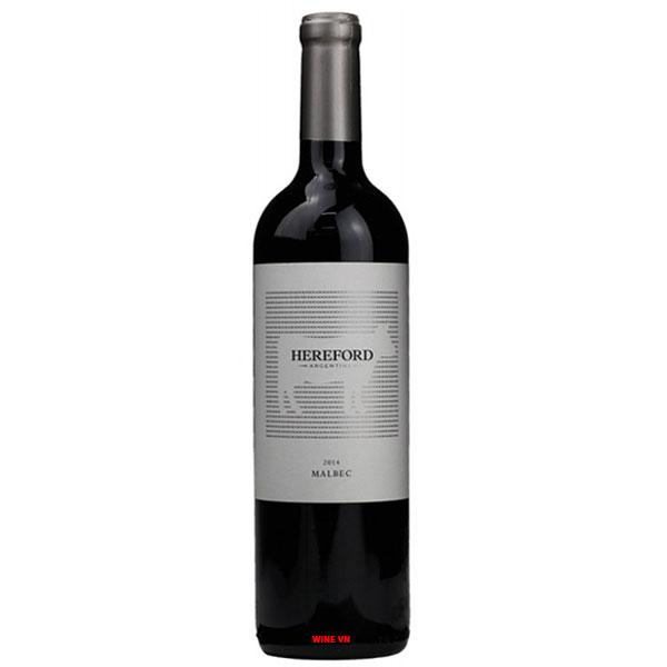 Rượu Vang Hereford Malbec