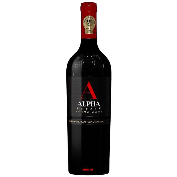 Rượu Vang Hy Lạp Alpha Estate SMX