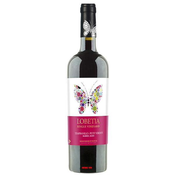 Rượu Vang Lobetia Single Vineyard Tempranillo - Petit Verdot