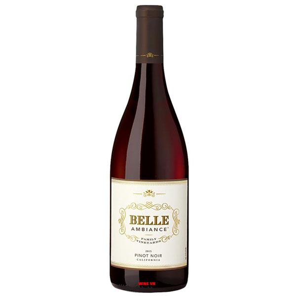 Rượu Vang Mỹ Belle Ambiance Pinot Noir