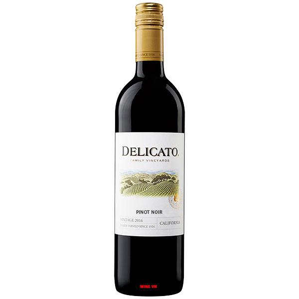 Rượu Vang Mỹ Delicato Pinot Noir