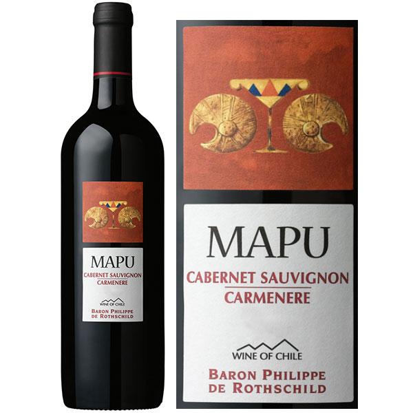 Rượu Vang Mapu Cabernet Sauvignon - Carmenere