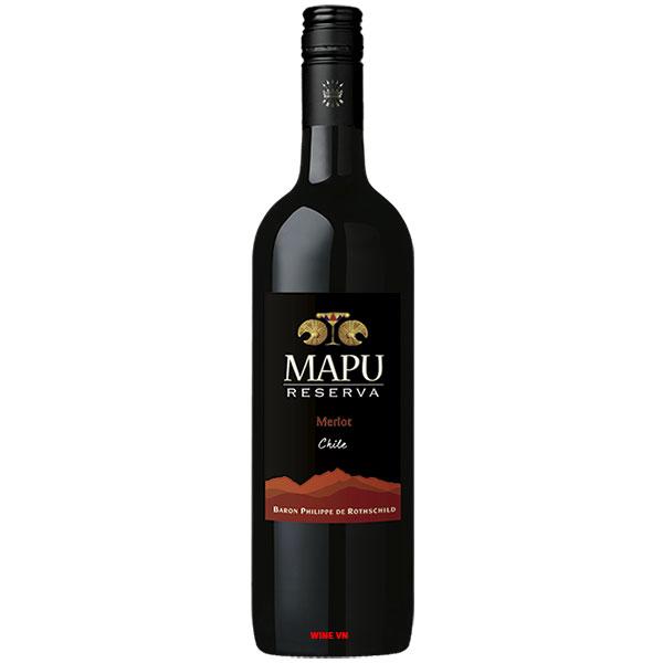 Rượu Vang Mapu Reserva Merlot