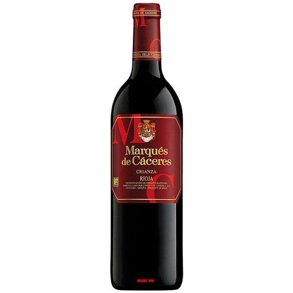 Rượu Vang Marques De Caceres Crianza Rioja