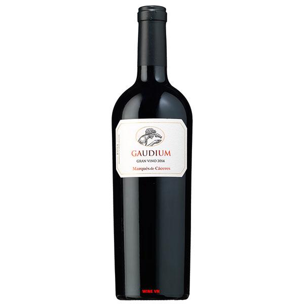 Rượu Vang Marques De Caceres Gaudium Gran Vino