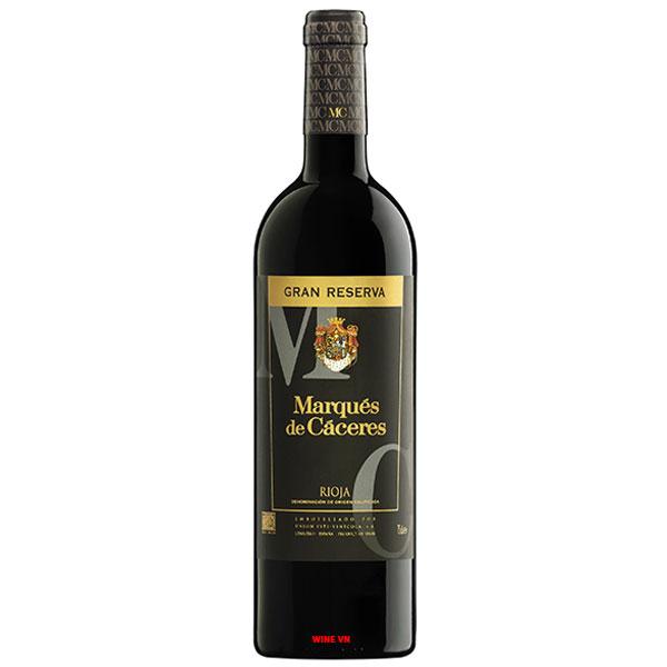Rượu Vang Marques De Caceres Gran Reserva Rioja