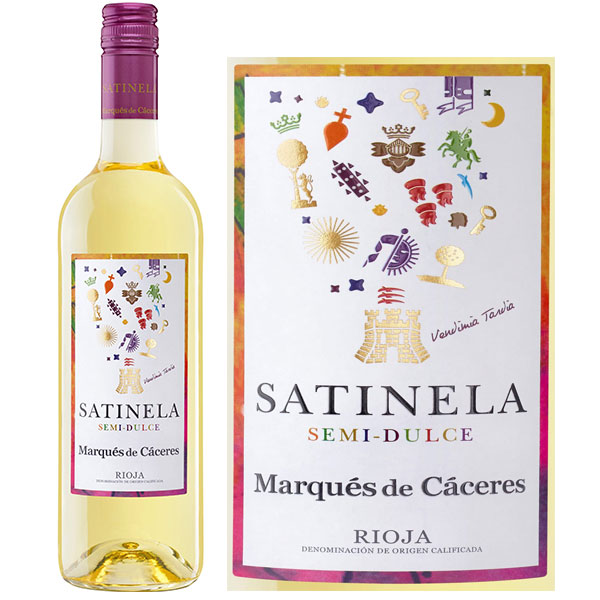 Rượu Vang Marques De Caceres Satinela Semi Dulce Rioja