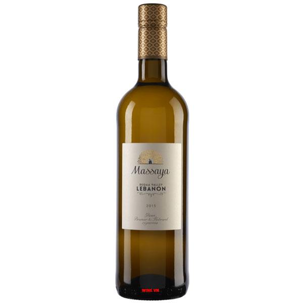Rượu Vang Massaya Lebanon Blanc